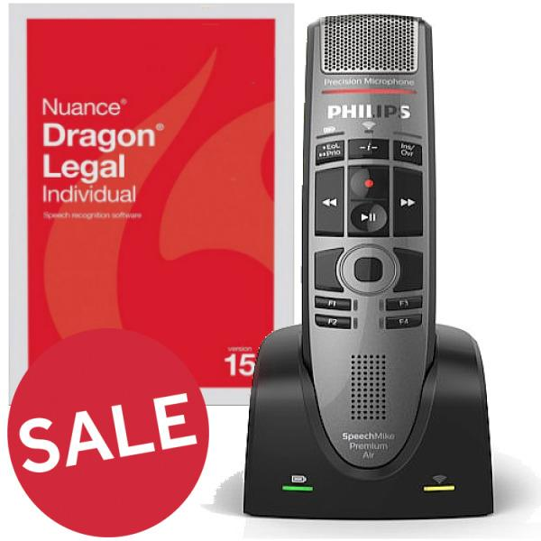 Dragon Legal 15 - Wireless Training Package