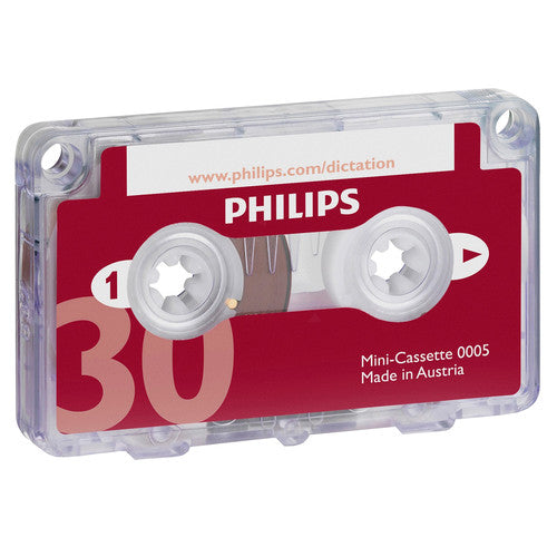 Philips LFH0005 Half hour mini Cassette Tape