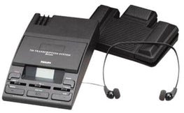 Philips LFH0720 Mini Cassette Desktop Transcriber - Dictation Solutions Australia
