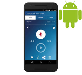 Android/Samsung SpeechLive Dictation and Transcription System 1 year (1 Author, 1 Typist) - Dictation Solutions Australia