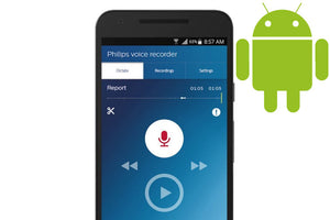Android/Samsung SpeechLive Dictation and Transcription System 1 year (1 Author, 1 Typist)
