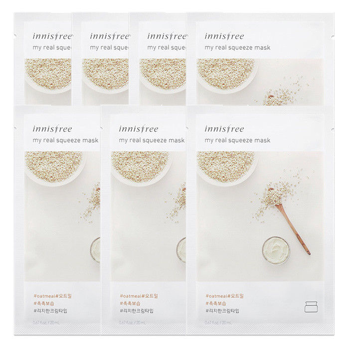 INNISFREE-My-Real-Squeeze-Mask-Sheet-20mL-7-PCS-SET-18-kinds-Made-in-Korea thumbnail 25