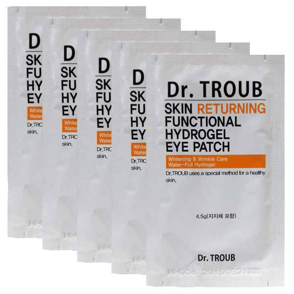 SIDMOOL Dr.Troub Skin Returning  Functional Hydrogel Eye Patch 4.5g x 5EA