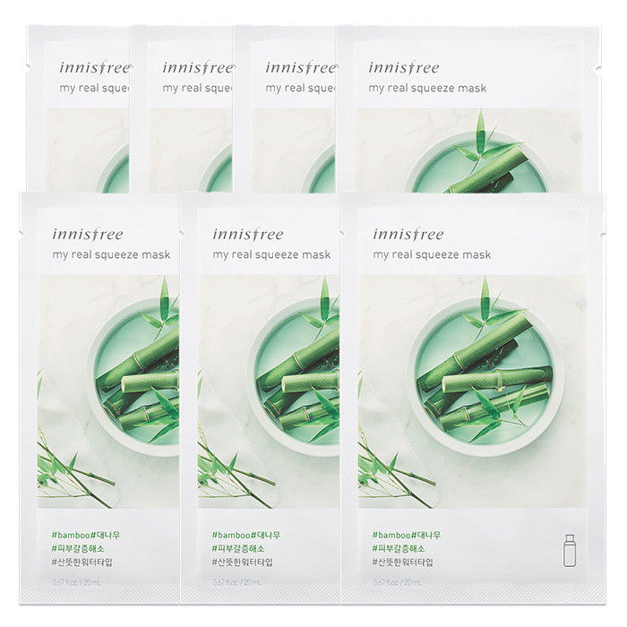 INNISFREE-My-Real-Squeeze-Mask-Sheet-20mL-7-PCS-SET-18-kinds-Made-in-Korea thumbnail 15