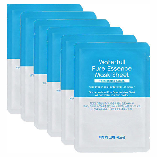 SIDMOOL Waterfull Pure Essence Mask Sheet 22g * 6 PCS