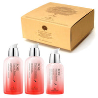 THE SKIN HOUSE Rose Heaven Skin Care Set (3PCS) / Toner,Serum,Emulsion