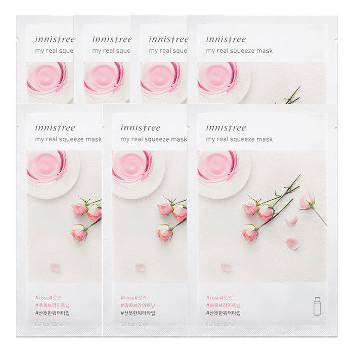 INNISFREE-My-Real-Squeeze-Mask-Sheet-20mL-7-PCS-SET-18-kinds-Made-in-Korea thumbnail 29