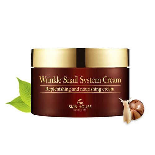 THE SKIN HOUSE Wrinkle Snail System Cream 100mL