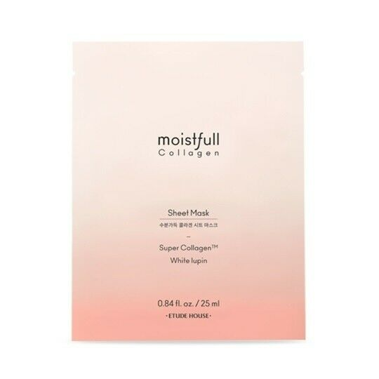 ETUDE HOUSE Moistfull Collagen Facial Mask Sheet 25mL * 5 PCS