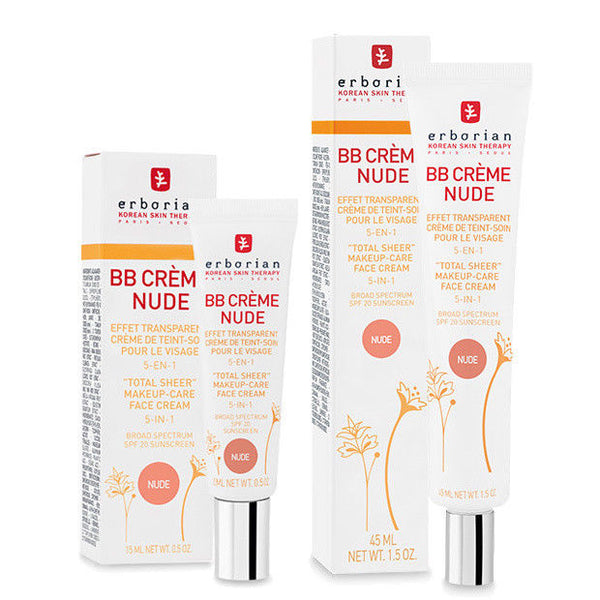 Erborian 5-in-1 BB Cream Nude (BB Creme Nude) 15mL / 45mL