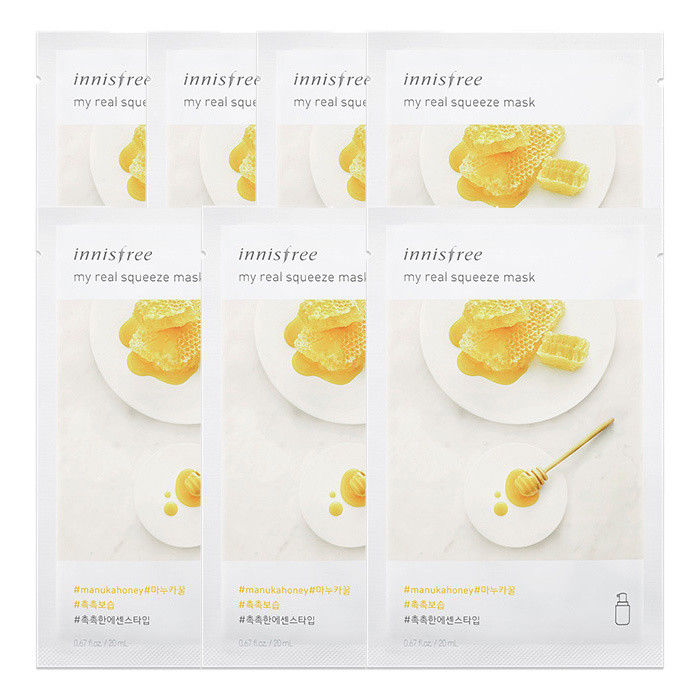 INNISFREE-My-Real-Squeeze-Mask-Sheet-20mL-7-PCS-SET-18-kinds-Made-in-Korea thumbnail 24