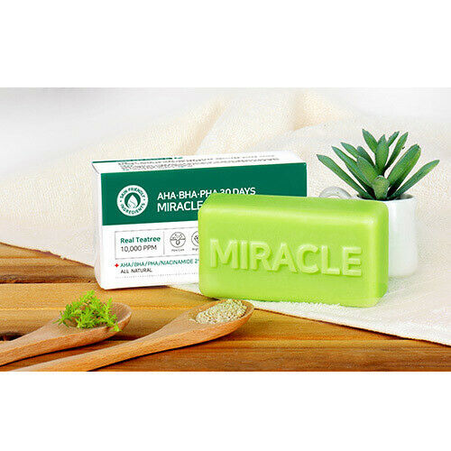 SOMEBYMI (SOME BY MI) AHA/BHA/PHA 30 Days Miracle Cleansing Bar 95g
