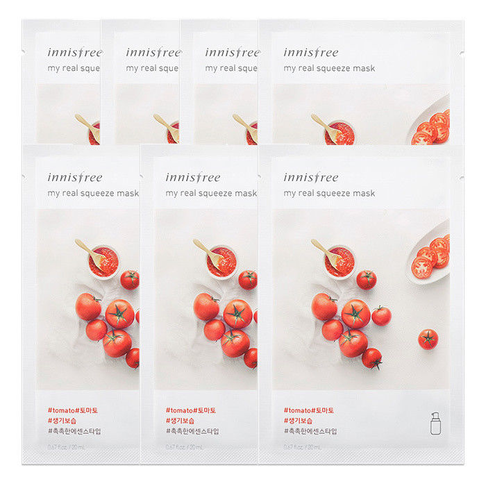 INNISFREE-My-Real-Squeeze-Mask-Sheet-20mL-7-PCS-SET-18-kinds-Made-in-Korea thumbnail 32