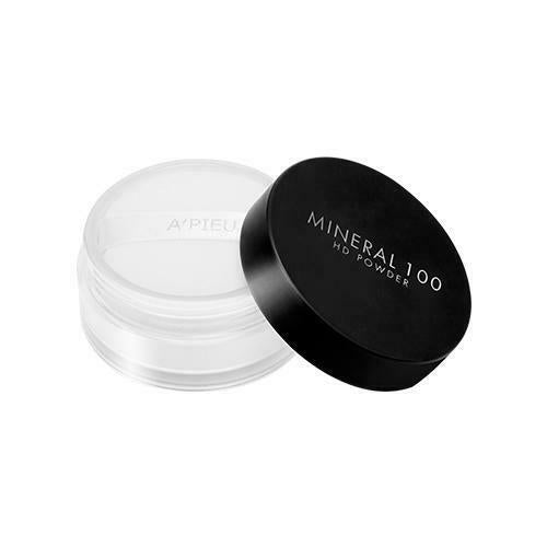 A'PIEU Mineral 100 HD Powder 5.5g (For Oily Skin Type)