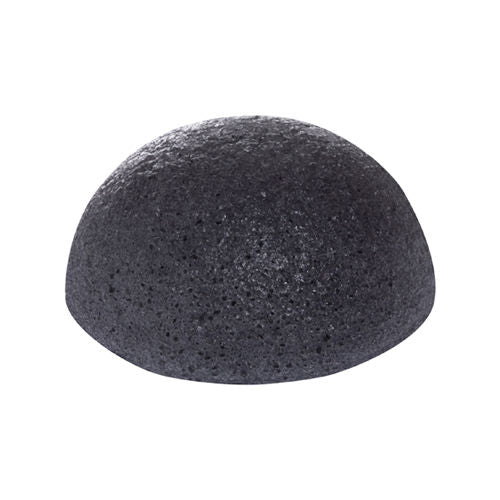 MISSHA Konjac Natural Soft Jelly Cleansing Puff - White Clay, Charcoal / 7.5 cm
