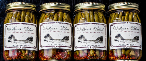 How to Pickle Veggies at Home - A Willigan's Island Recipe