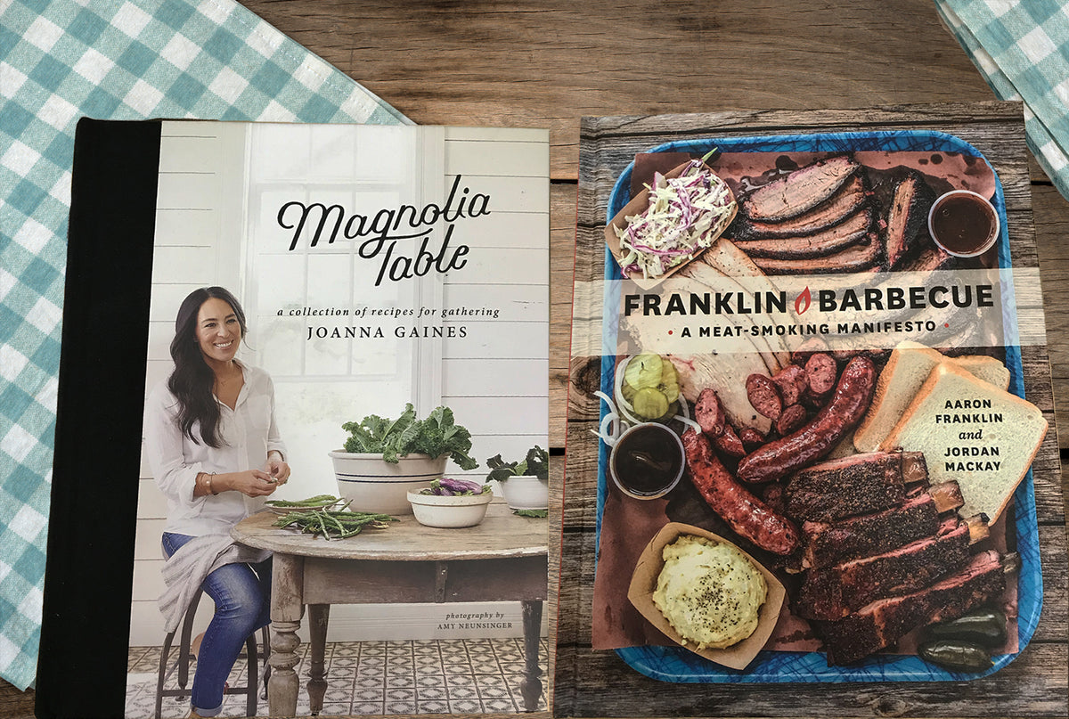 Cookbook Authors Joanna Gaines & Aaron Franklin Dish-up Down-home Recipes for Every Occasion