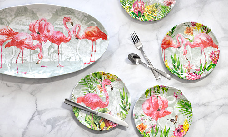 Melamine—A Blast from the Past Making a Trendy Comeback