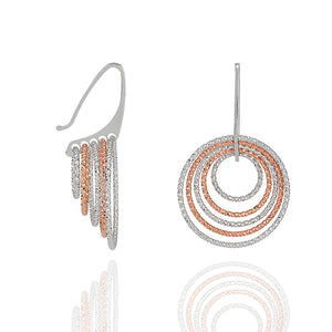 AVOJ CELESTE SILVER GLEAM EARRINGS