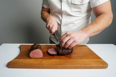JBG Autumn Recipes: Whole Beef Tenderloin with Collard Green Gratin
