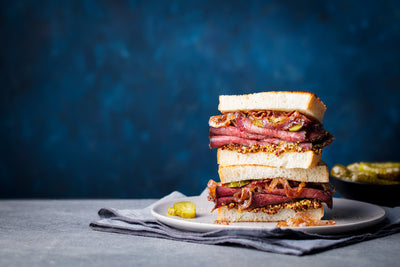 Picanha-style Roast Beef Sandwiches