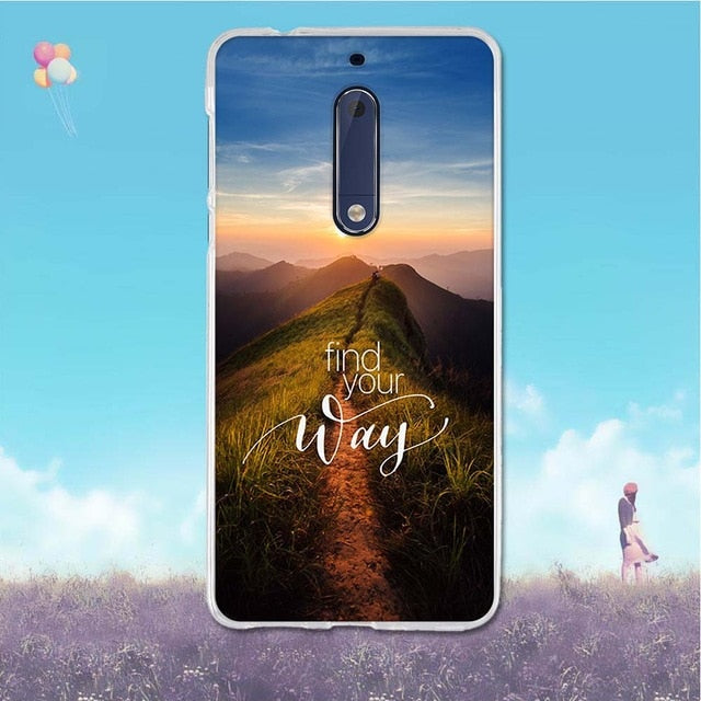 For Nokia 5 3 6 8 Case 3D Pattern For Nokia5 Nokia3 Nokia6 Nokia8 Case Back Cover Soft TPU Silicone For Nokia 3 5 6 8 Phone Case