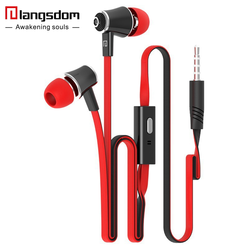 Official Original Langsdom JM21 In-ear Earphone Colorful Headset Hifi Earbuds Bass Earphones High Quality Ear phones for Phone