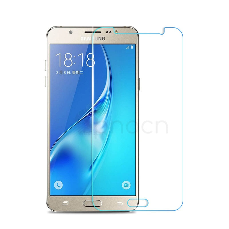 GPNACN 0.22mm 2.5D Tempered Glass For Samsung Galaxy J3 J5 J7 2016 2015 A3 A5 A7 2015 2016 2017 Screen Protector Protective Film