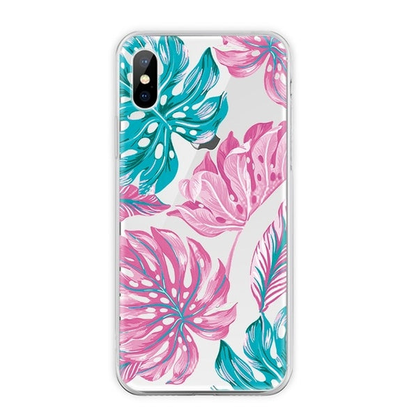 2586ab3e9b Painting TPU Phone Cover for iPhone 7 Case Cartoon Animal Flower Protective  Shell for iPhone 7 ...