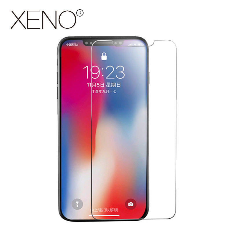 High Definition Tempered Glass For iphone X 8 7 6 6s Plus iphone XS MAX 5S 5 SE 5C 4 Front and back screen protector Protective