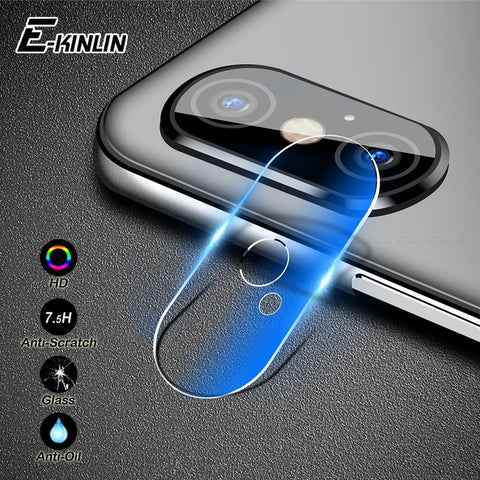 Camera Lens Protective Protector For iPhone XS Max XR X 8 7 6 6S Plus Samsung Galaxy Note 9 S9 S8 S7 Edge Tempered Glass Film