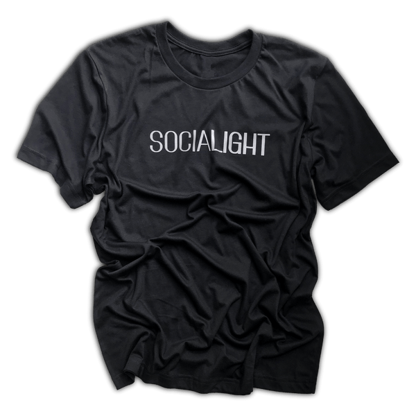 SociaLIGHT | Reflective Unisex Statement T-Shirt