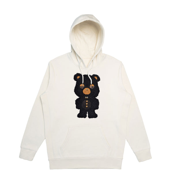 Black Sheep Bear  | Men's Organic Cotton Hoodie with Crystals from Swarovski®