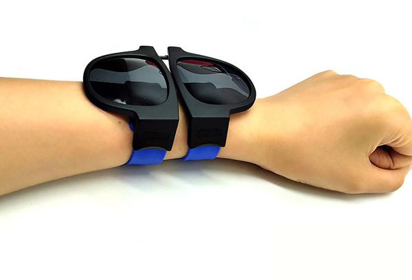 Slap Bracelets are now available again. Disguised as Sunglasses