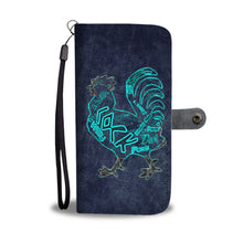 "Load image into Gallery viewer, ""Peckerhead"" Custom Designed Wallet Phone Case Rooster Adults"