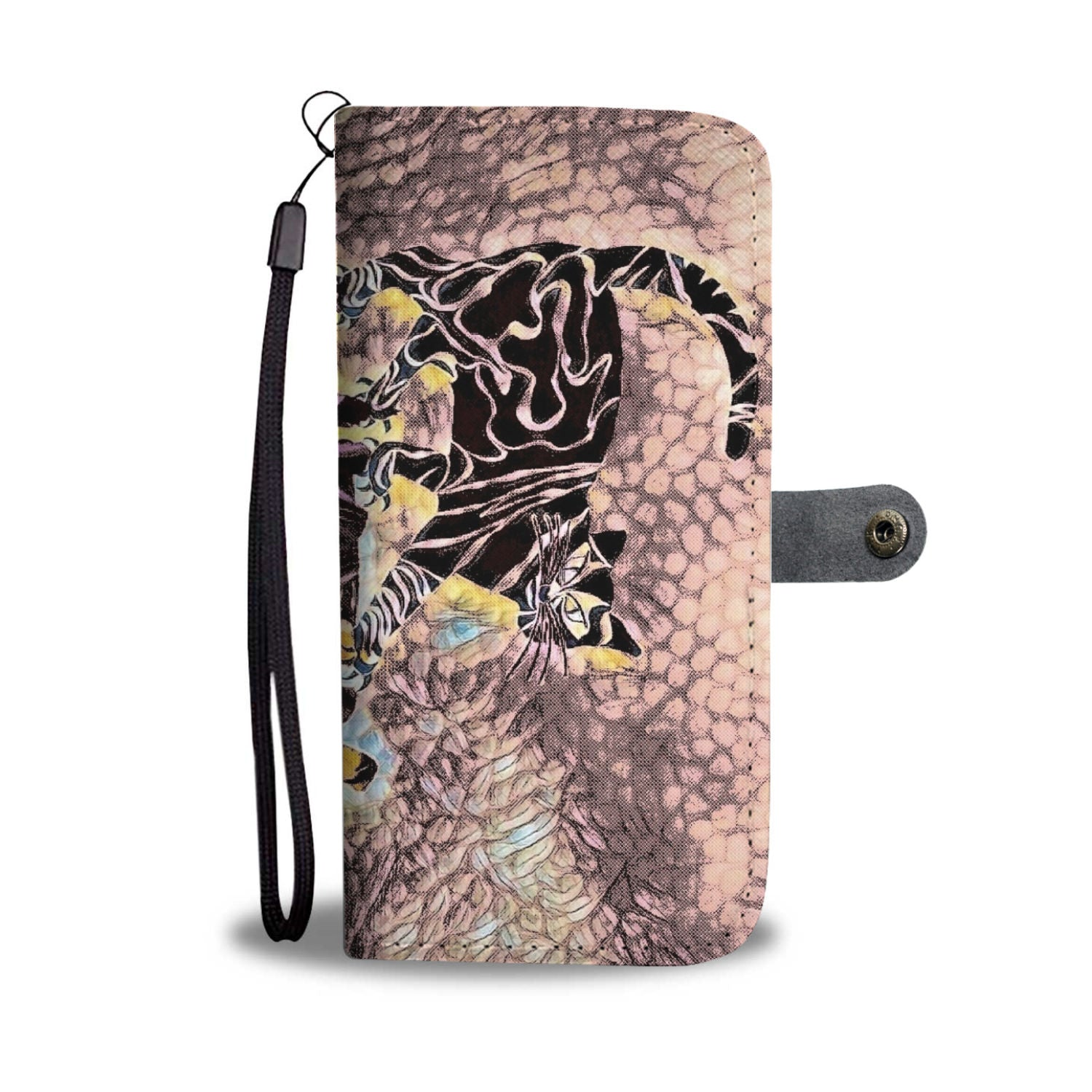 Custom Cat Witch Phone Wallet