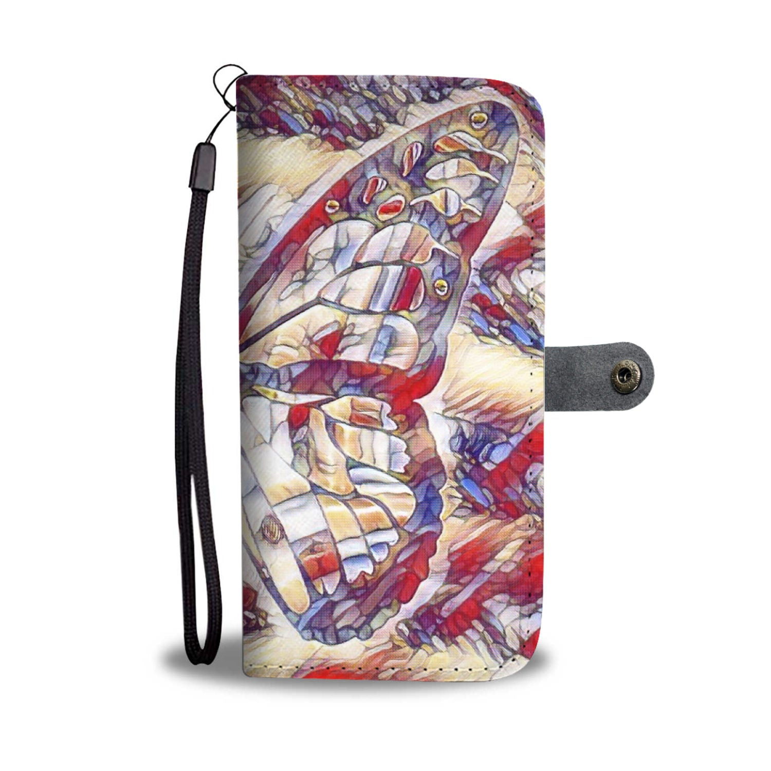 Butterfly phone wallet