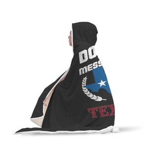 """Don't Mess With Texas"" Cozy Hooded Blanket"