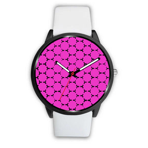 Pink and Black watch