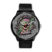 Load image into Gallery viewer, Trippy skull watch