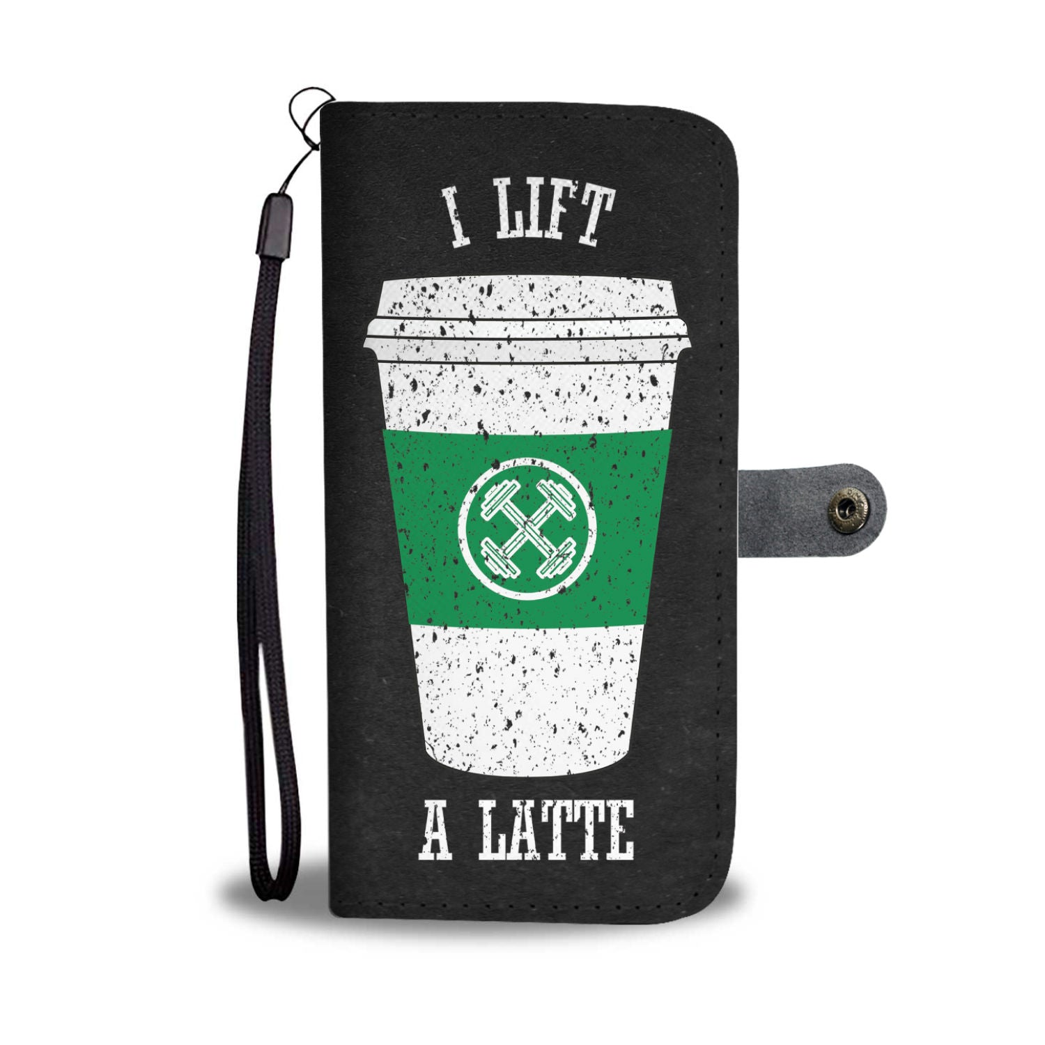 Coffee Lifter - RFID phone wallet case