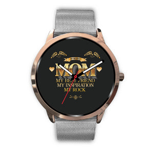 Rose Gold Custom Mom Watch