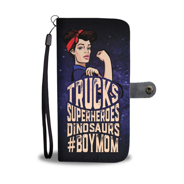 Boy Mom Wallet Phone Case