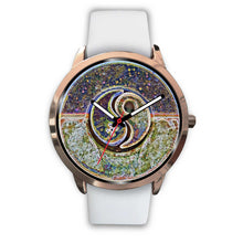 Load image into Gallery viewer, Yin Yang Night and Day Rose Gold Watch