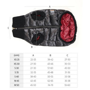 Polar jacket Black Burgundy