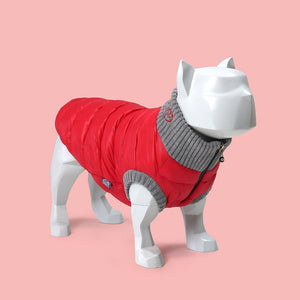 Polar jacket Red Gray