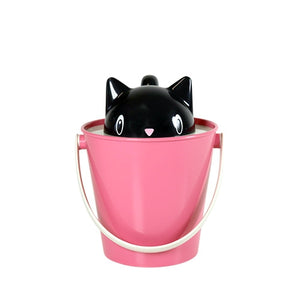 Cute Kitty Food Pail Keeps Pet Food Fresh  - Crick 2kg- Made In Italy