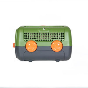 A.U.T.O. BPA free Ultra Safe Cozy Pet Carrying Cabin Travel Cat Dog Carrier  - Designed in Italy