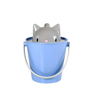 Cute Kitty Food Pail Keeps Pet Food Fresh  - Crick 2kg- Made In Italy_2