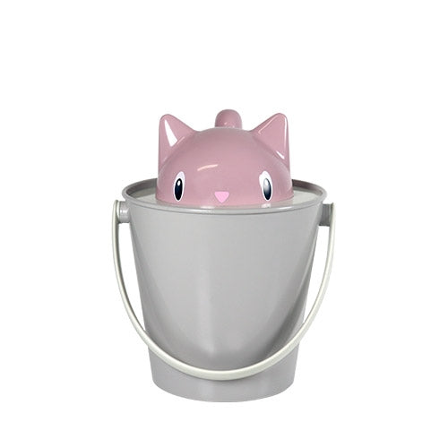 Cute Kitty Food Pail Keeps Pet Food Fresh  - Crick 2kg- Made In Italy_3